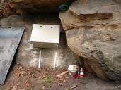 Řídící jednotka skalního monitoringu.