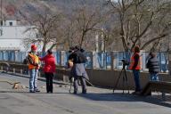 Spolupráce s médii jako nezbytná součást sanací skal v exponovaných lokalitách.