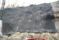 Ukázka užití protierozní výztužné rohože MacMat Maccaferri.